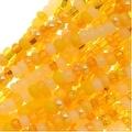 Czech Seed Beads 11/0 Mix Lot Daffodil Yellow Lemon - Thumbnail 0