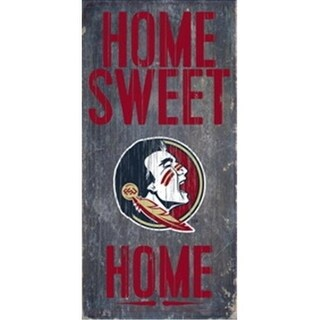 Florida State Seminoles Wood Sign Home Sweet Home 6 X12