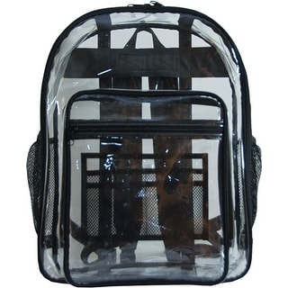 amaro Transparent School Bookbag Backpack