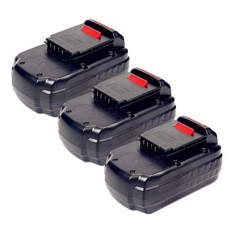 Replacement Battery For PC186CS Power Tools - PC18B (3000mAh, 18V, NiCD) - 3 Pack