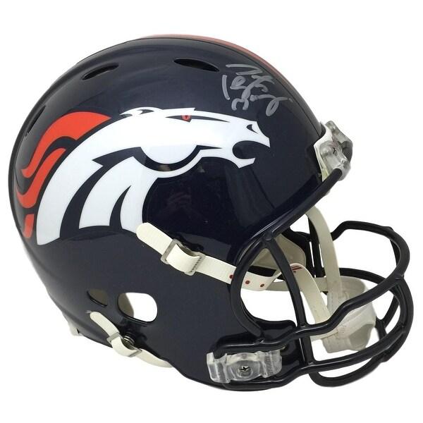 d33ecec2 Peyton Manning Signed Broncos FS Authentic Helmet w/Manning Facemask  Fanatics