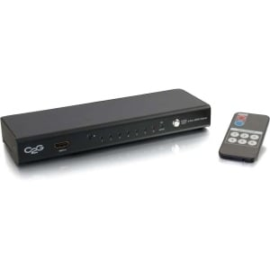 C2g - 6-Port Hdmi Selector Switch 3D