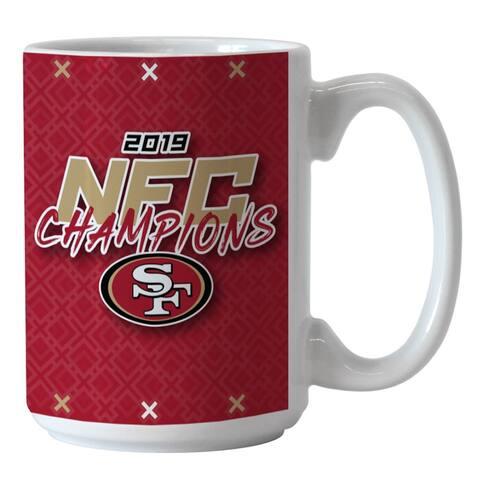 San Francisco 49ers 2019 NFC Champions 15oz. Coffee Mug