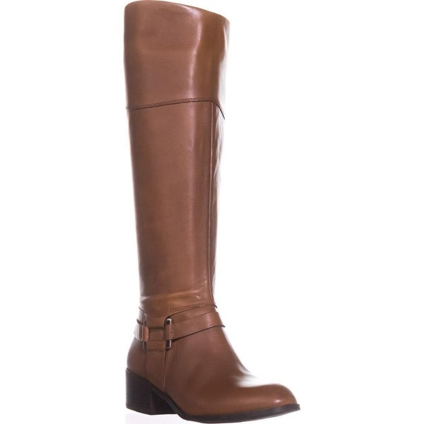 A35 Biliee Riding Boots, Cognac - 6 us
