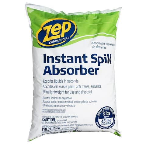 Zep Commercial ZUABS3 Instant Spill Absorber, 3 Lb