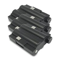 Replacement 700mAh Battery For Midland GXT300VP1 / GXT650 2-Way Radios Models (3 Pack)