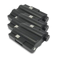 Replacement 700mAh Battery For Midland GXT500VP1 / GXT756 2-Way Radios Models (3 Pack)