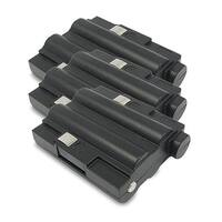 Replacement 700mAh Battery For Midland GXT555VP4 / GXT785 2-Way Radios Models (3 Pack)