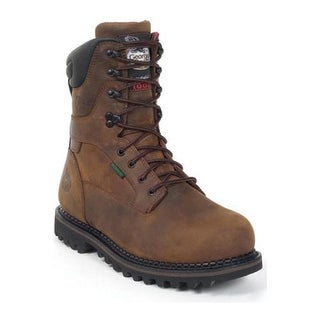 "Georgia Boot Men's G8162 9"" Arctic Toe Deer Brown"