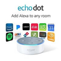 Amazon Echo Dot (2nd Generation) - White