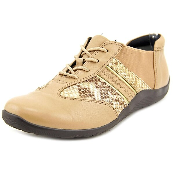 Ros Hommerson Nancy Women Nude/Bronze Snake Sneakers Shoes