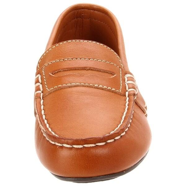 Polo by Ralph Lauren Telly Slip-On Toddler//Little Kid//Big Kid ,Tan,5.5 M US Toddler