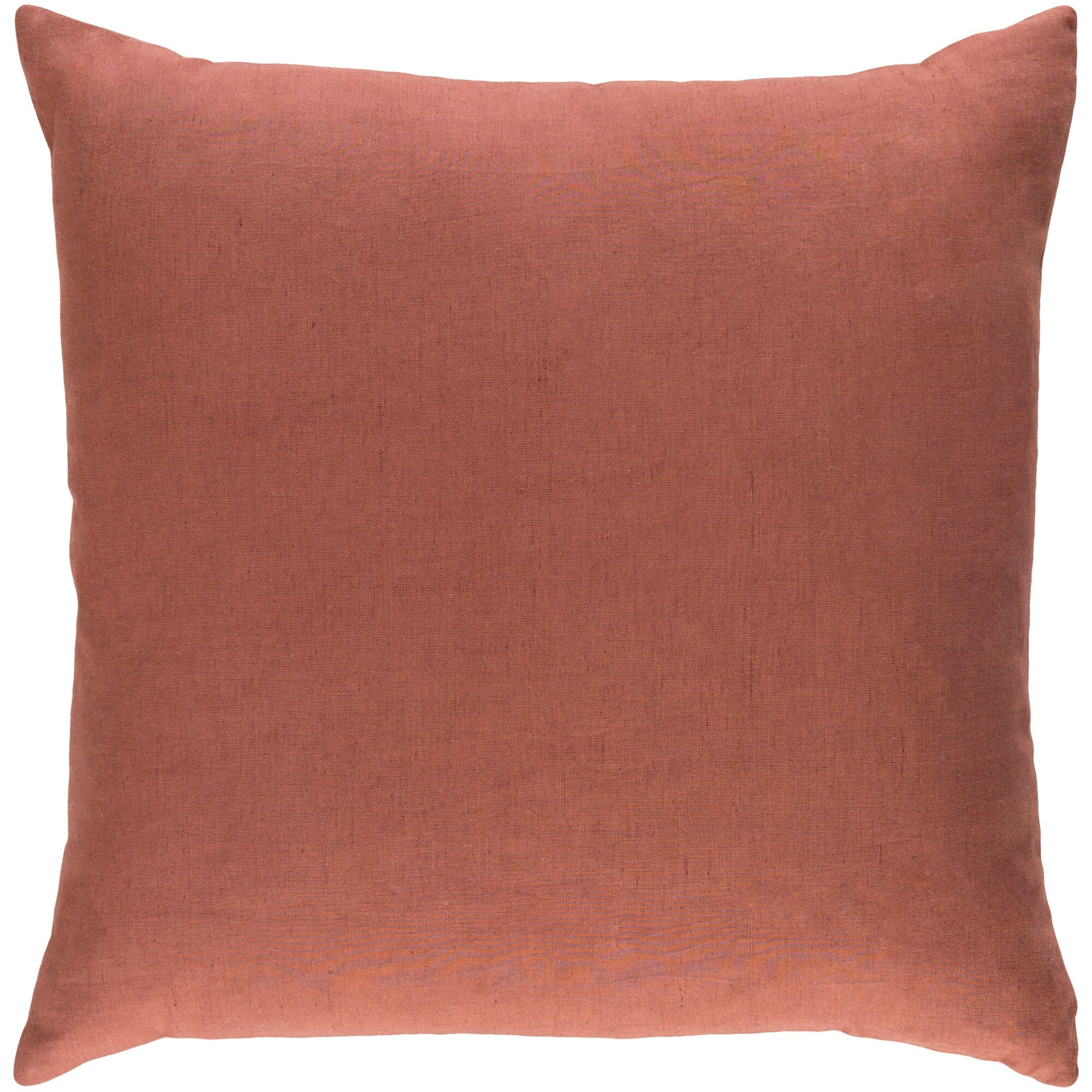 Decorative Villa Rust 18 Inch Throw Pillow Cover Overstock 23143609