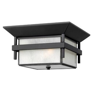 Hinkley Lighting 2573 2 Light Outdoor Flush Mount Ceiling Fixture from the Harbor Collection