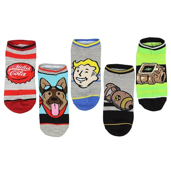 Fallout Character and Icons Ankle Socks 5 Pair