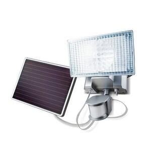 MAXSA INNOVATIONS MXI44449M MAXSA Innovations Silver 100-LED Solar-Powered Security Floodlight
