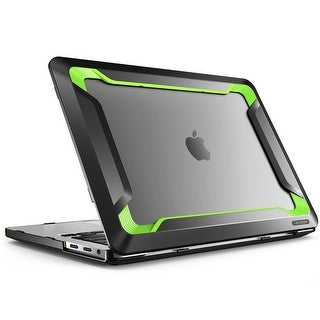 Macbook Pro 13 Case 2016, i-Blason, Rugged Case, Slim Rubberized Cover with Touch Bar and Touch ID (Green)