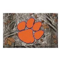 NCAA Clemson University Tigers Shoe Scraper Door Mat