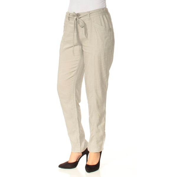 c44eb0f537e Shop Womens Gray Straight leg Pants Size 4 - On Sale - Free Shipping On  Orders Over  45 - Overstock.com - 23457691
