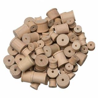 Wooden Craft Spools (144 Pieces)|https://ak1.ostkcdn.com/images/products/is/images/direct/2276fd6c5c377cb46d5458addeb883b77ca718d5/Wooden-Craft-Spools-%28144-Pieces%29.jpg?impolicy=medium