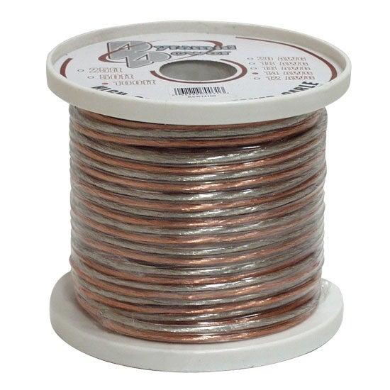 20 Gauge 500 ft. Spool of High Quality Speaker Zip Wire