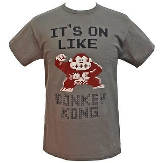 8709ecadd Shop Nintendo Men's It's On Like Donkey Kong NES Classic Officially  Licensed Character T-Shirt - On Sale - Free Shipping On Orders Over $45 -  Overstock - ...