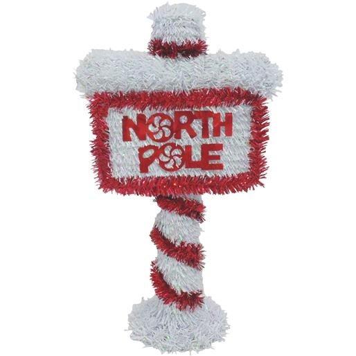 """F C Young 14"""" 3D North Pole Sign 3D-NPOLE Unit: EACH Contains 6 per case"""