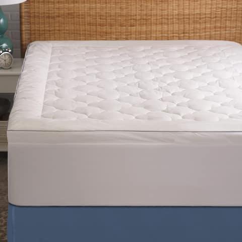 Cool Sleep White Mattress Pad by Cozy Classics
