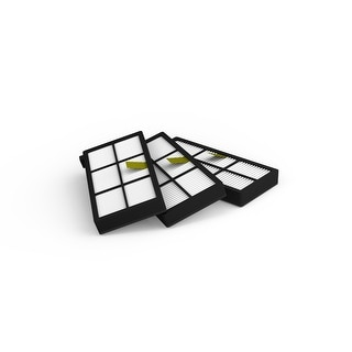 iRobot 4415864 3 Replacement HEPA Filters For Roomba 800 Series