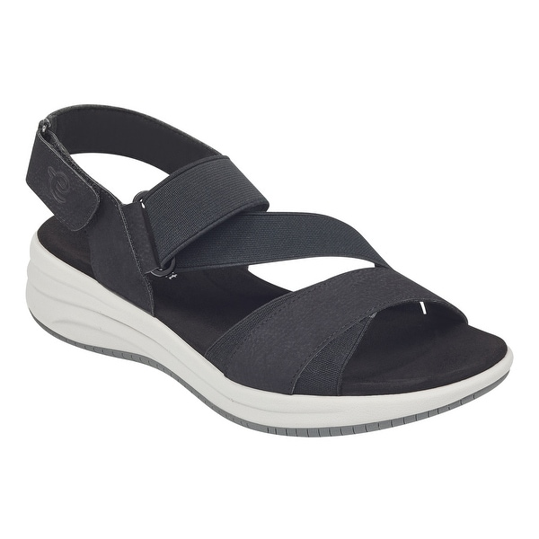 5768f2372b44 Shop Easy Spirit Womens dartz3 Open Toe Casual Sport Sandals - 6 ...