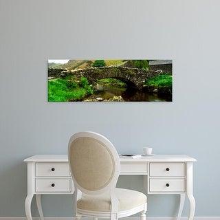 Easy Art Prints Panoramic Images's 'Watendlath Bridge, Lake District, Cumbria, England, United Kingdom' Canvas Art