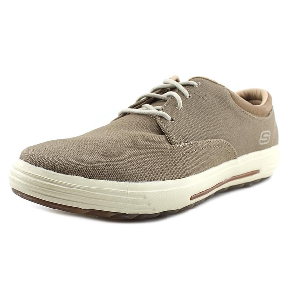 Skechers Porter - Zevelo Men Round Toe Synthetic Tan Sneakers