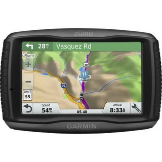 Garmin Zumo 595LM 5-inch Glove-Friendly Touch Screen Motorcycle GPS w/ Lifetime Map Updates