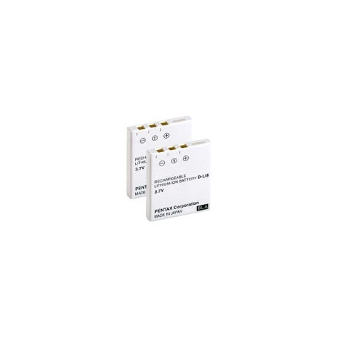 New Replacement Battery For PENTAX Optio W20 Camera Model ( 2 Pack )