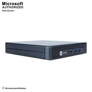 HP EliteDesk 800G1 Desk Mini Intel i5-4570T 2.90GHz 8GB RAM 360GB SSD WIFI BT4.0 DP to HDMI Adapter DP WIN10P64