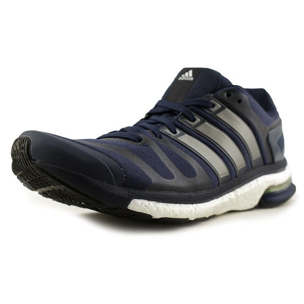 Adidas Adistar Boost ESM Men Round Toe Synthetic Blue Running Shoe