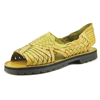 Brand X Pachuco W Open Toe Leather Slides Sandal