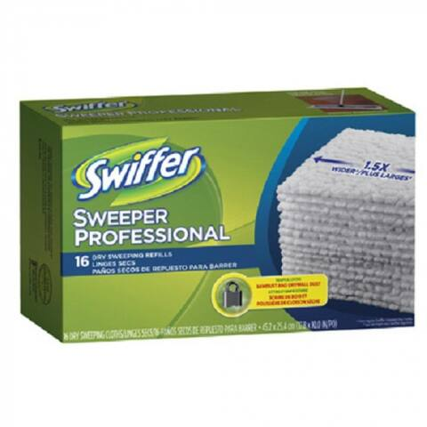 Swiffer 33903 Sweeper Professional Dry Sweeping Cloth Refills, X-Large, 16-Count