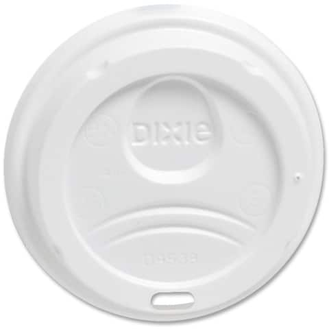 Dixie Drink-Thru Lid Fits 8-oz. Hot Drink Cups