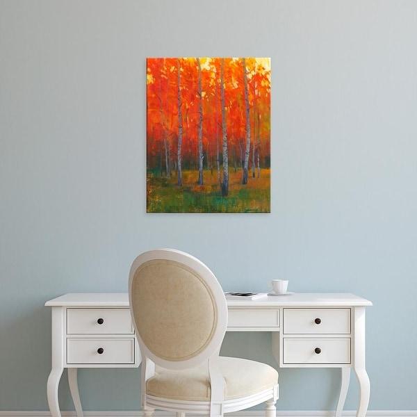Easy Art Prints Tim OToole's 'Changing Colors II' Premium Canvas Art