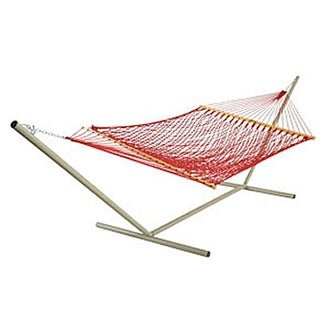 Pawleys Island The Original Large DuraCord Rope Hammock - Garnet