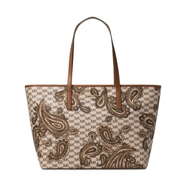 b4ebcbe0387e Shop MICHAEL Michael Kors Womens Emry Tote Handbag Leather Paisley ...