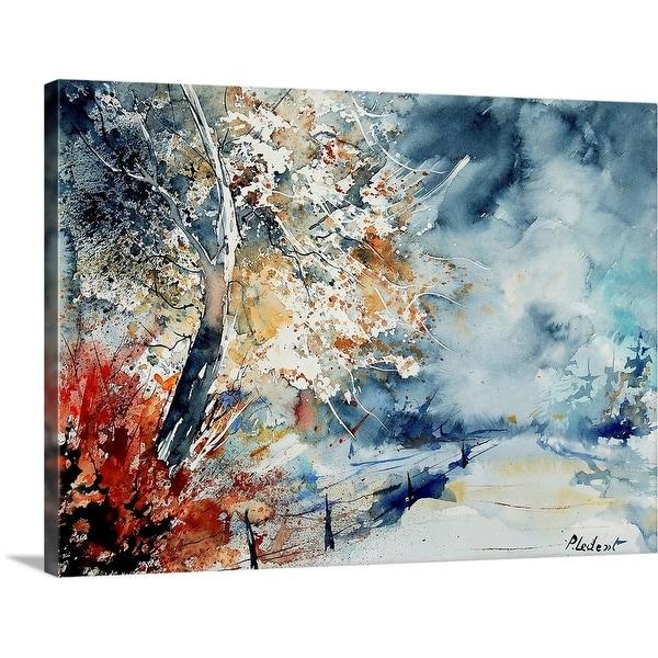 """Watercolor 2407063"" Canvas Wall Art"