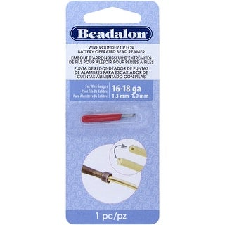 Battery Operated Bead Reamer Wire Rounder Tip 16-18 Gauge-
