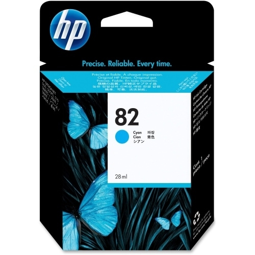 HP 82 69-ml Cyan DesignJet Ink Cartridge (C4911A) (Single Pack)