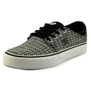 DC Shoes Trase TX SE Women Round Toe Canvas Black Skate Shoe