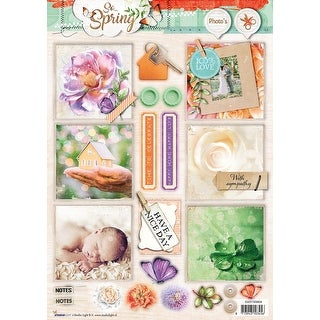 Studio Light So Spring Easy 3D Punched Sheet A4-