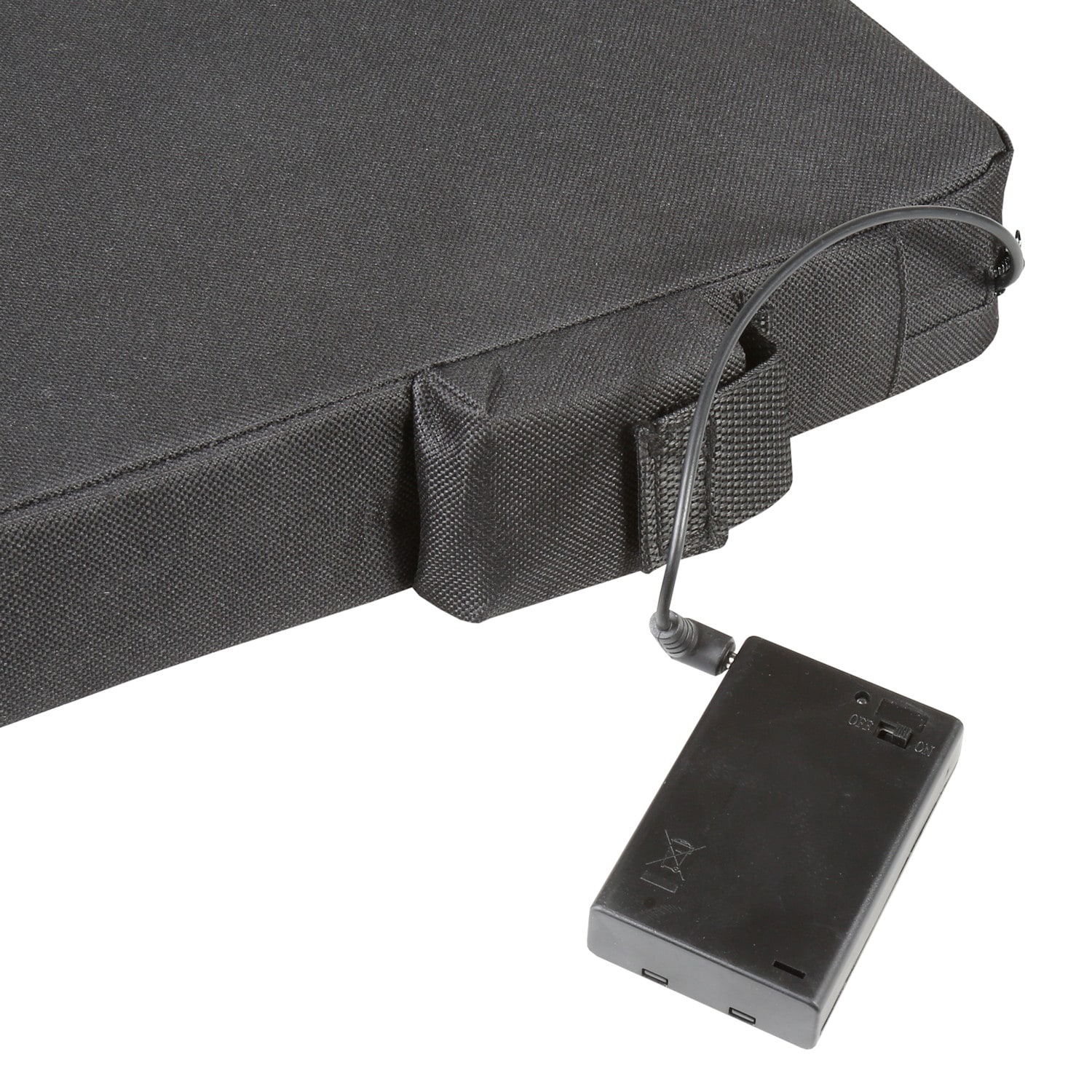 Shop Bandwagon Portable Heated Seat Cushion Battery Operated Warming Foam Chair Pad With Removable Cover Overstock 30783924