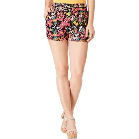 Guess Womens Margarita Floral Casual Mini Shorts