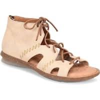 B.O.C Womens Nea NuBuck Open Toe Casual Gladiator Sandals